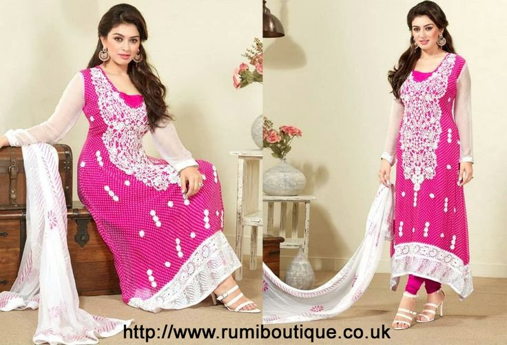 Don't miss the chance, just visit Rumi Boutique site and get heavy discount in EID festivals. Rumi Boutique has multiple type of ready-made collection like Pakistani designer suits, Pakistani designer dresses and many more. All the products of Rumi's are created by popular fashion designer. Rumi's products are also famous in India. Pakistani salwar suits and lehenga are famous in all over country.