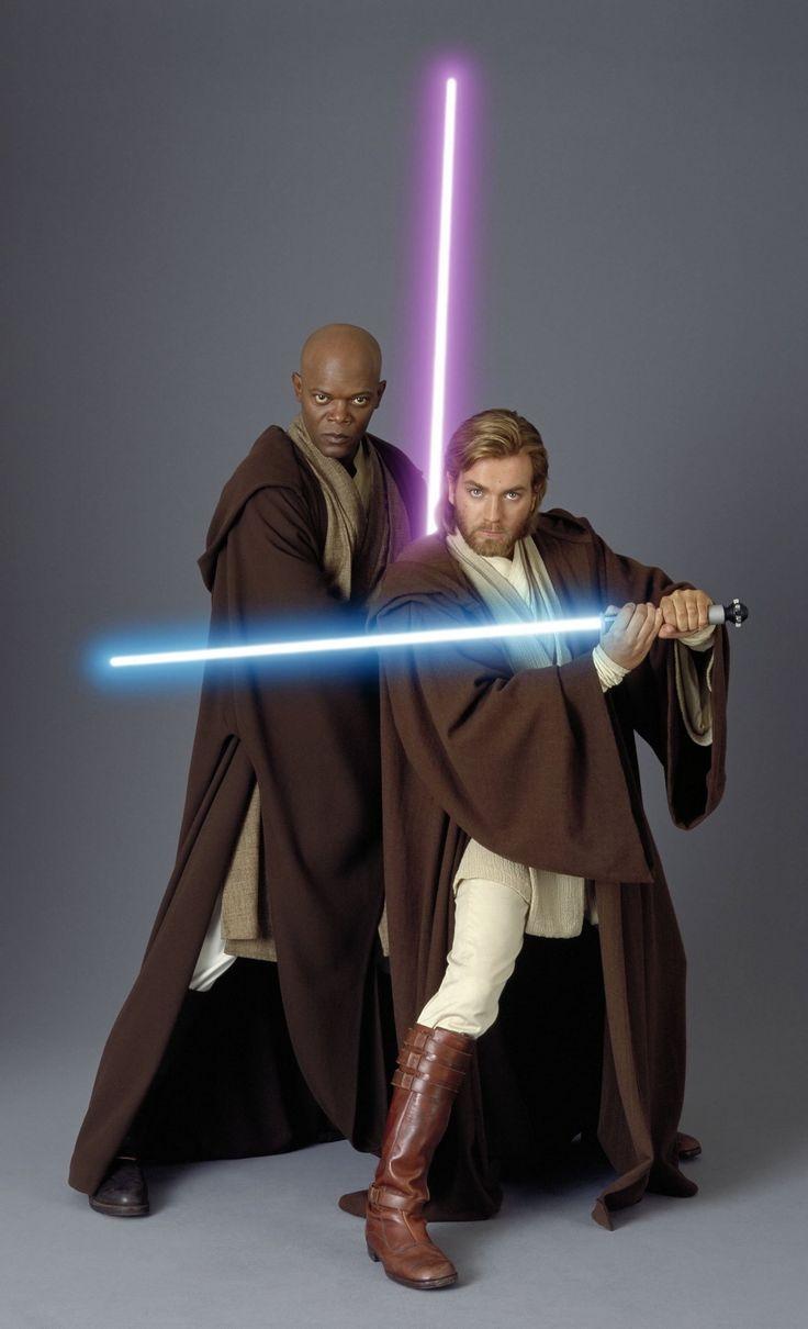 Mace Windu and Obi-Wan Kenobi