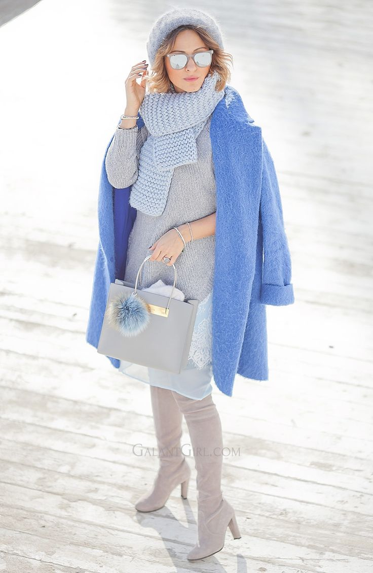 blue+coat+lady+like+outfit+for+winter