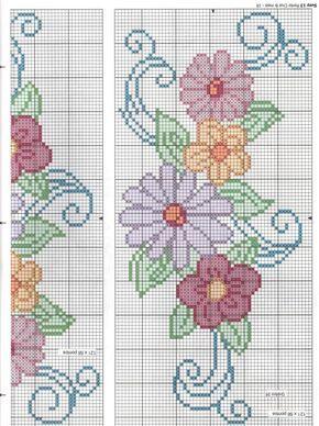Mudando um pouquinho olha que lindo gráfico floral para Jogos de cama... Beijos e obrigado pela visitinha.... Ah!!!! Uma boa semana...