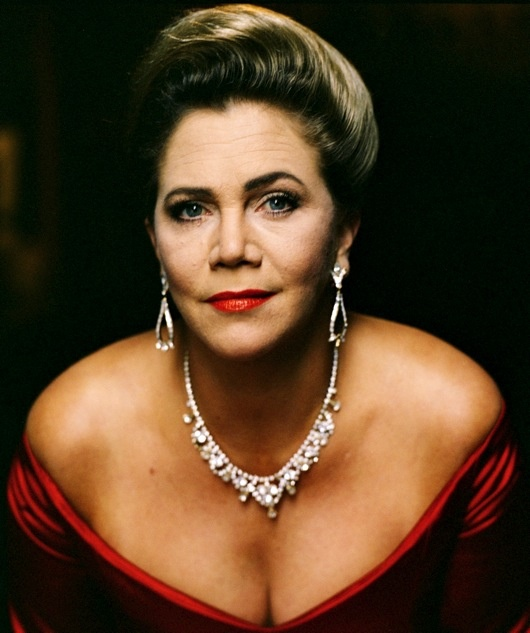 Kathleen Turner....met her on Broadway.  After her show, The Graduate.