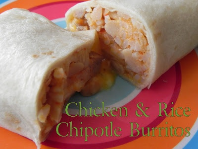Chicken rice, Chipotle burrito and Summer lunches on Pinterest