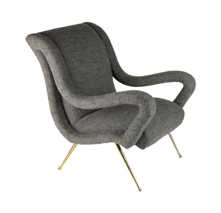 Buy The Garvey Club Chair by Studio