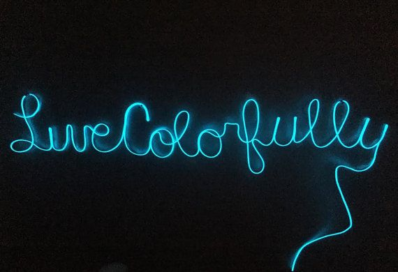 Custom Neon Signs by HandmadeByHayden on Etsy