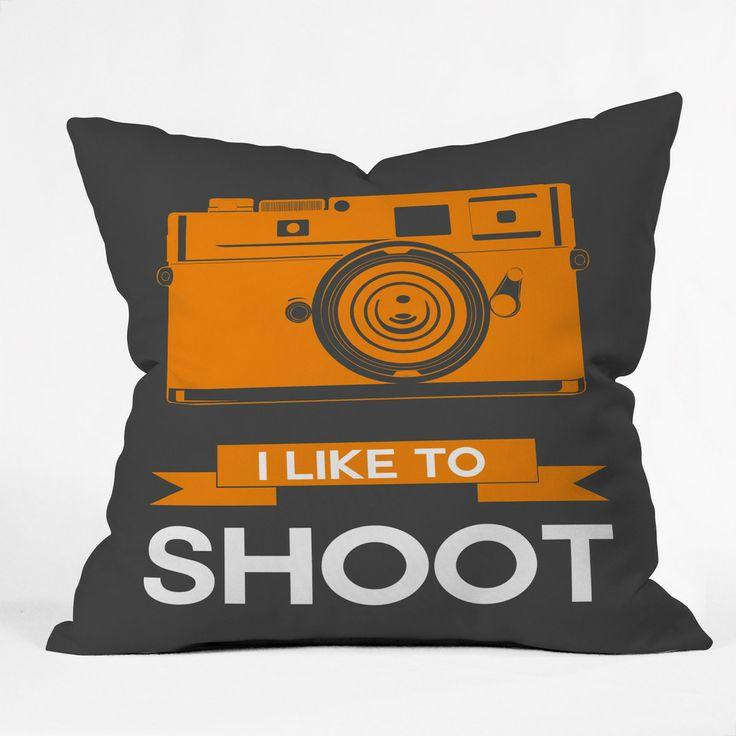 Naxart I Like To Shoot 1 Throw Pillow