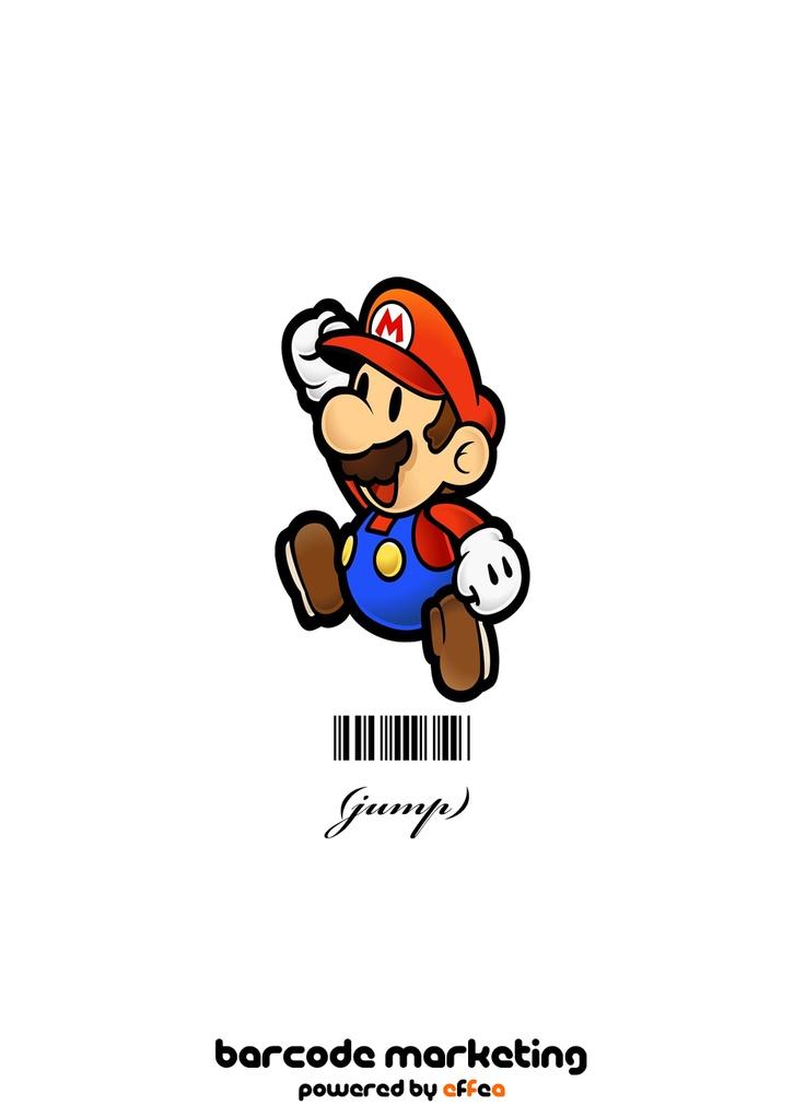 "Barcode Mario Bros. ""Jump"""