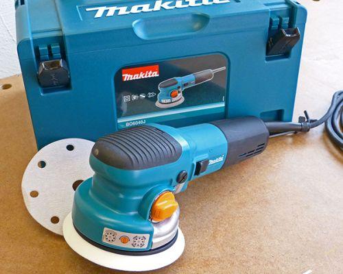 Makita Getriebe-Exzenterschleifer BO6040J