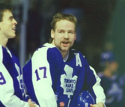Wendel Clark...named to the all rookie team!