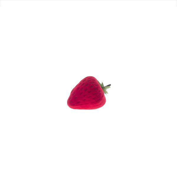 Estuche anillo modelo fresa roja