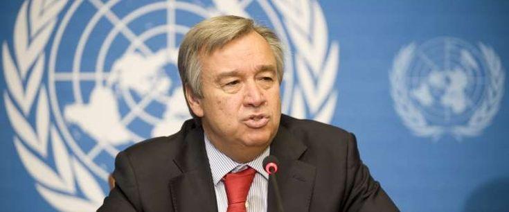 """BM Genel Sekreteri António Guterres, ABD'nin Suriye'de """"sınır güvenliği gücü"""" planına ilişkin, """"Suriye halkı kendi sorunlarını kendi çözebilse çok daha iyi olurdu."""" dedi."""