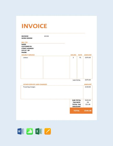 Free Consultancy Service Invoice in 2019 Places to visit Places