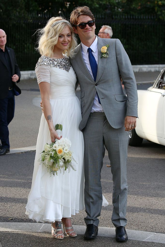 Fearne Cotton marries Jesse Wood in London Celebrity