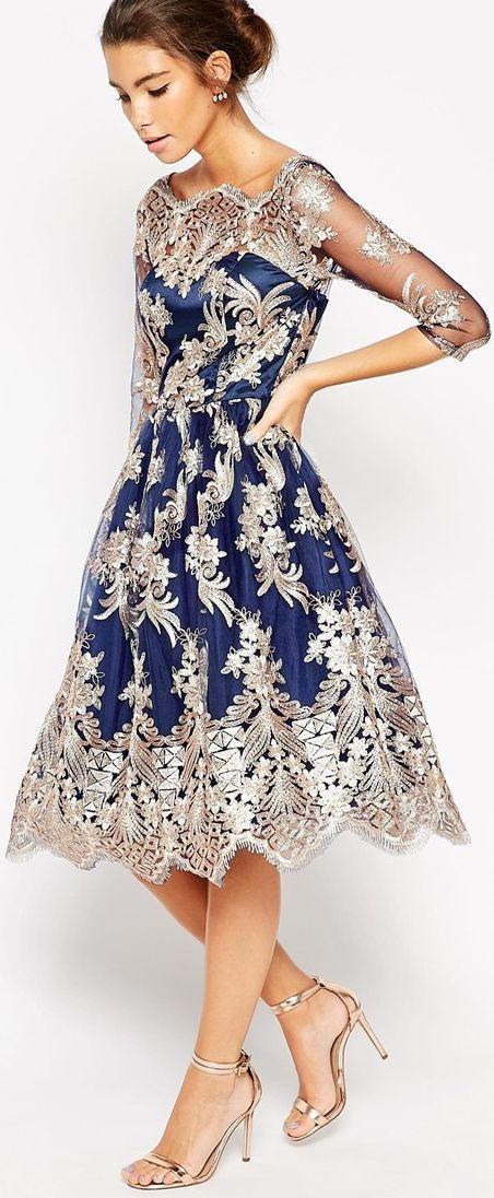 Beautifully embellished dress by Chi Chi London