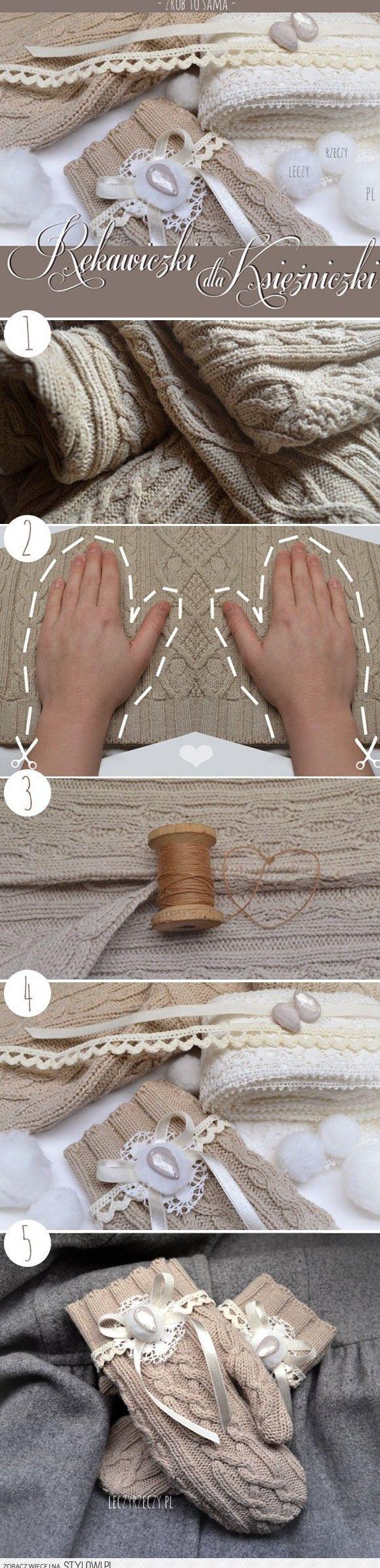 rękawice tutorial