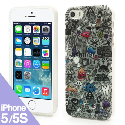 Graff - Funda iPhone 5 / 5S - iPhone Case - La Tienda de Doctor Manzana