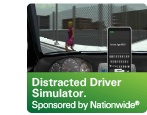 The Ohio Department of Transportation will show how some of the slightest distractions will interfere with your performance as an attentive driver on the road