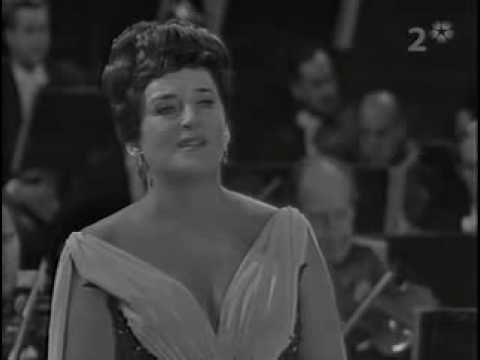 My favorite singer:    Swedish soprano Birgit Nilsson performs the famed 'Liebestod' from Wagner's Tristan und Isolde.