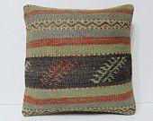 HAND WOVEN pastel furniture pillow contemporary cushion couch cushion cover handmade pillow cover geometric cushion kilim pillow case 19624