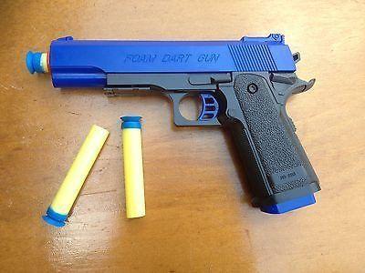 Detective M1911 Nerf Foam Dart Gun - Colt .45 ACP | Backyard Blasters – Backyard Blasters