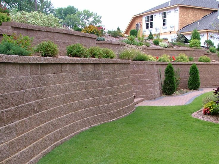 Backyard Designs With Retaining Walls backyard retaining wall designs retaining wall blocks 2016 glamorous backyard retaining wall images Backyard Wall Ideas