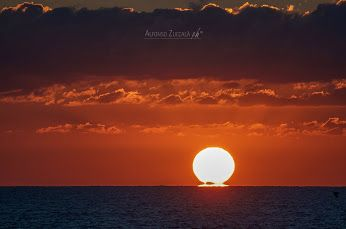 Sunrise on adriatic sea - Salento - Puglia - Italy