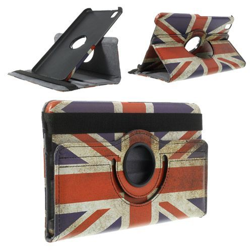 Javu - Samsung Galaxy Tab Pro 8.4 Hoes - Rotatie Cover Britse Vlag | Shop4TabletHoes