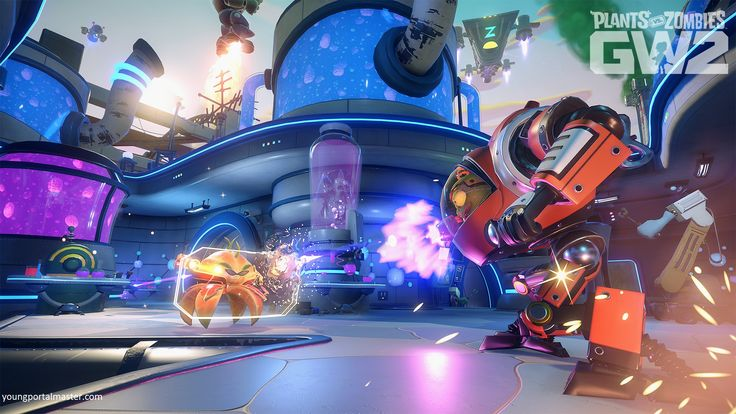 Plants V's Zombies Garden Warfare 2