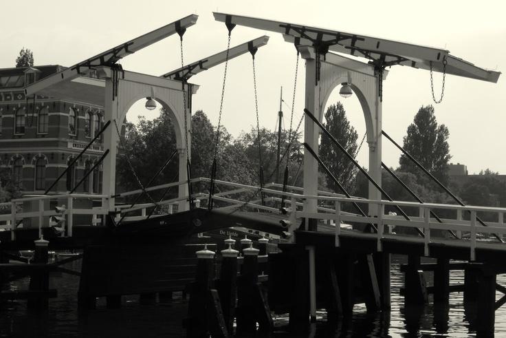 Bridge, Leiden, the Netherlands