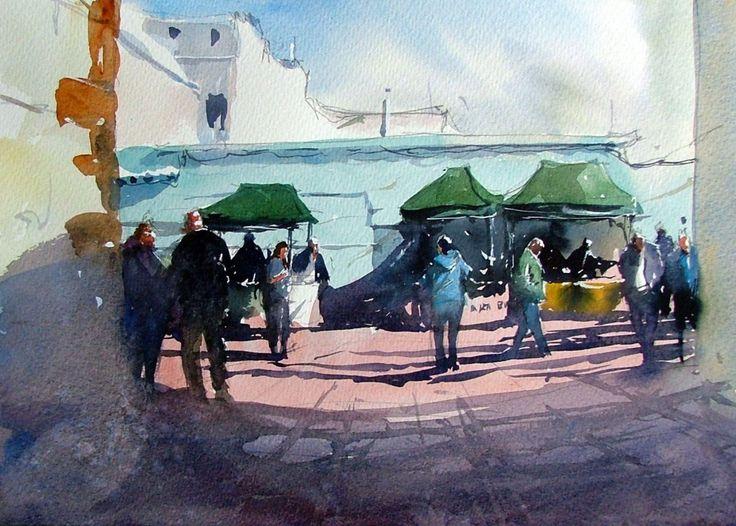 Tim Wilmot   Watercolour Journey by Ian McKendrick