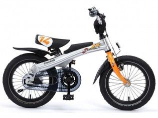 Rennrad 14 Zoll - Orange - Laufrad + Fahrrad