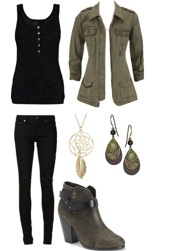 this Inspired outfit is from caroline on the Vampire Diaries