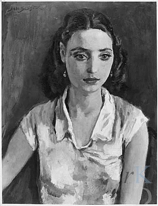 Jan Sluijters | 1938 #portrait #woman #art