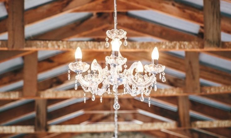 Crystal Chandelier - Small