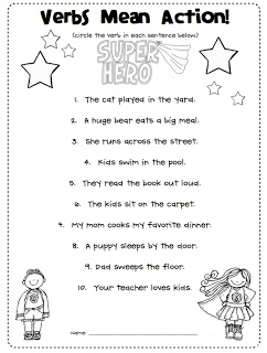 Action Words List Amusing 13 Best Projects To Try Images On Pinterest  Grammar Worksheets .