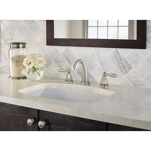 Portola Widespread Bathroom Faucet - Pop-Up Drain Included