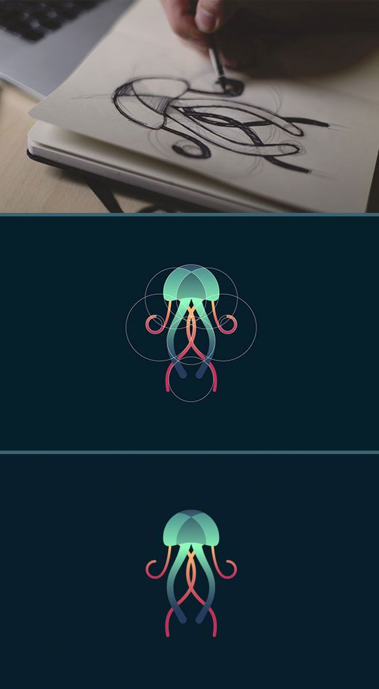 Awesome Circle Animal Logos With Tom Anders Watkins   iBrandStudio