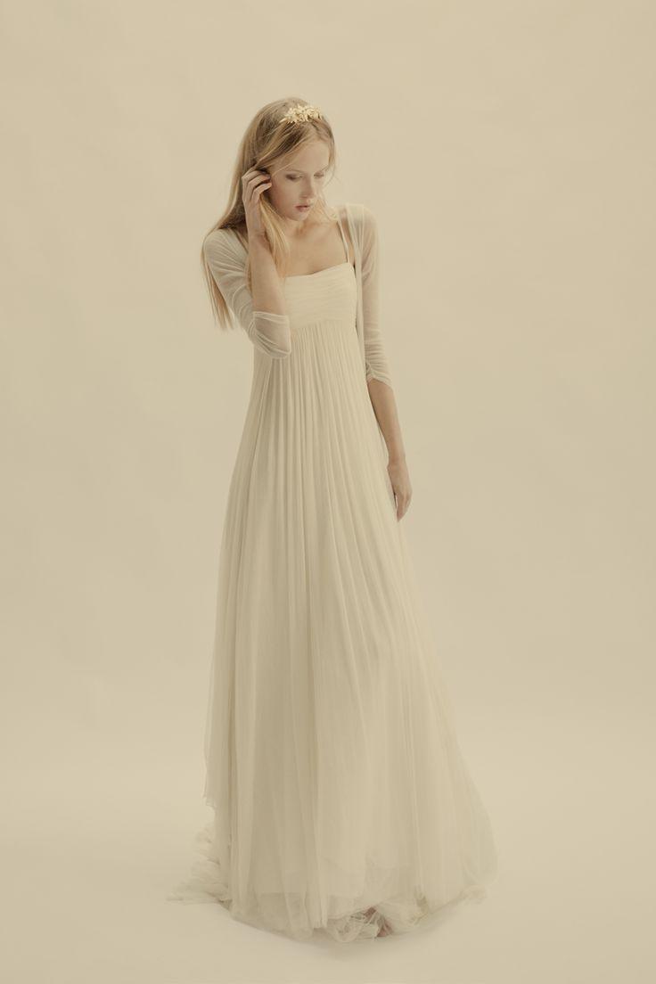 Vestido Gemma y abrigo Volare  ~ Vestido novia