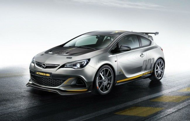 new Opel Astra OPC extreme edition