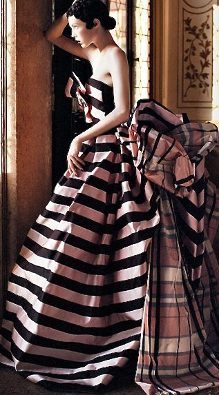 Christian Lacriox for Schiaparelli Haute Couture, photographed by David Sims for Vogue US September 2013.