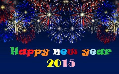 Happy New Year 2015 Banner Animated 09