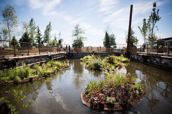 Our Guide To The Opening Of Spruce Street Harbor Park On The Delaware River Waterfront With A Garces Group Pop-Up Restaurant, Hammock Grove ...