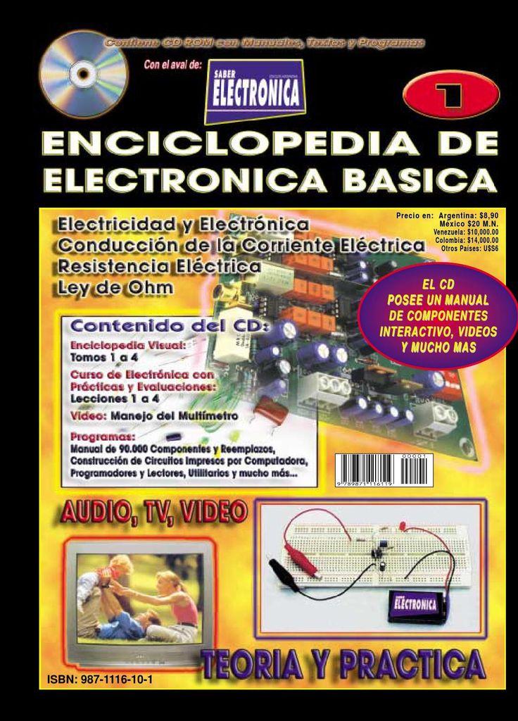 Tomo 1  ENCICLOPEDIA DE ELECTRÓNICA BASICA