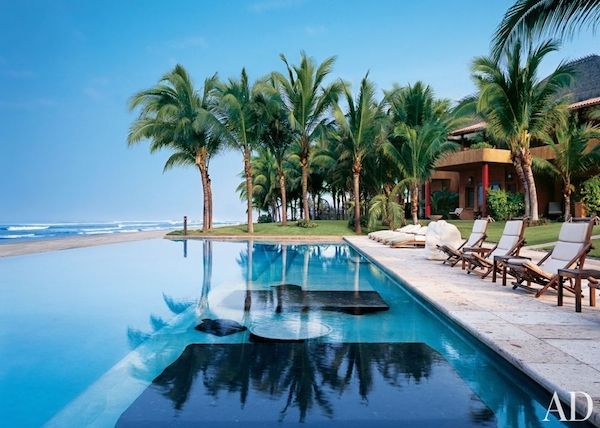 How Gorgeous Is This Swimming Pool Design Leading To The Beach And Picturesque