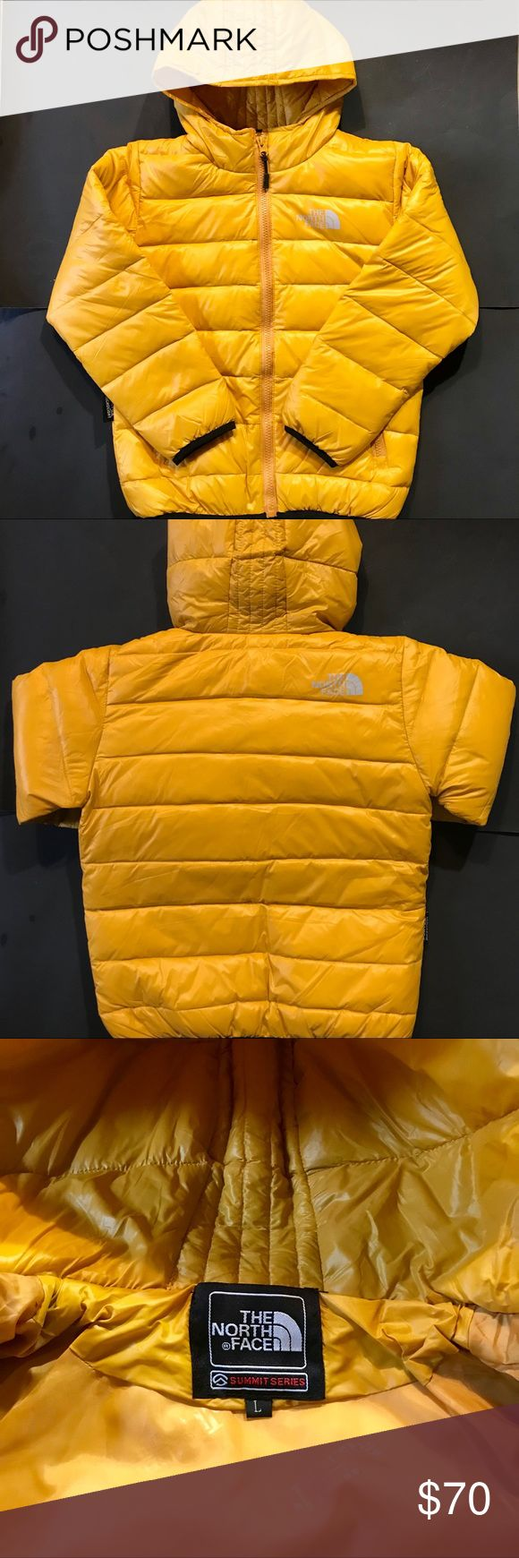 😃The North Face Jacket Yellow Kids (NEW!!😃 Kids North Face medium weight size Large (fits any kid from 6-9 yrs old) New W/o tags! Any questions feel free to ask☺️ The North Face Jackets & Coats Puffers