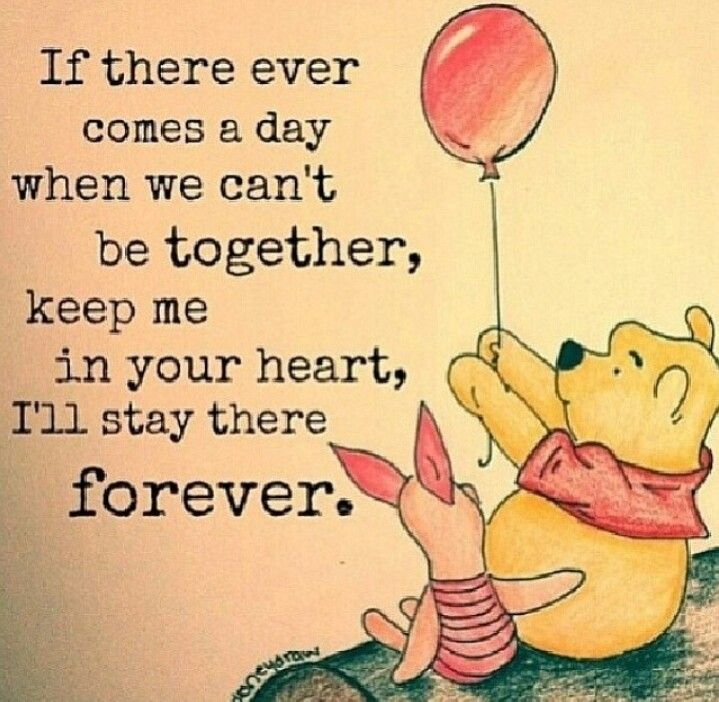Friendship quote Winnie the pooh