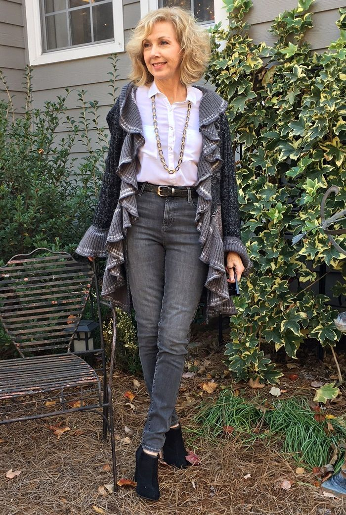 a3a66684d04c Fashion over 50: Jeans, Sweaters, Booties | Fashion and Beauty Over 50 |  Fashion, Womens_fashion, Fashion over 50