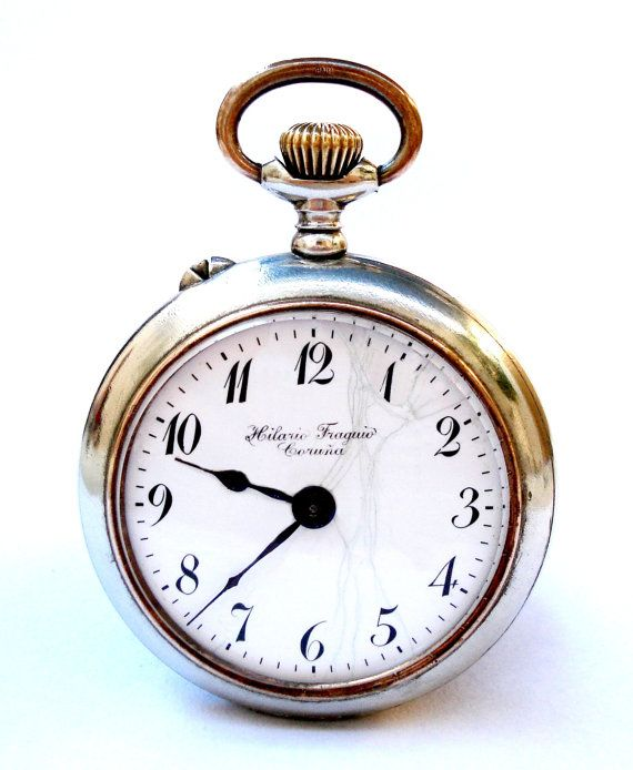 Antiguo Reloj De Bolsillo Suizo LA CHARRIERE Open por shopvintage1