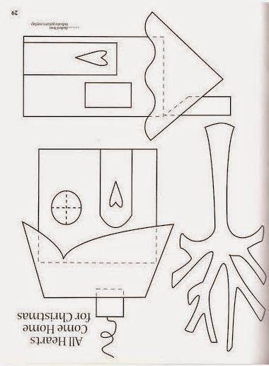 Moldes de casitas para hacer cojines ~ lodijoella
