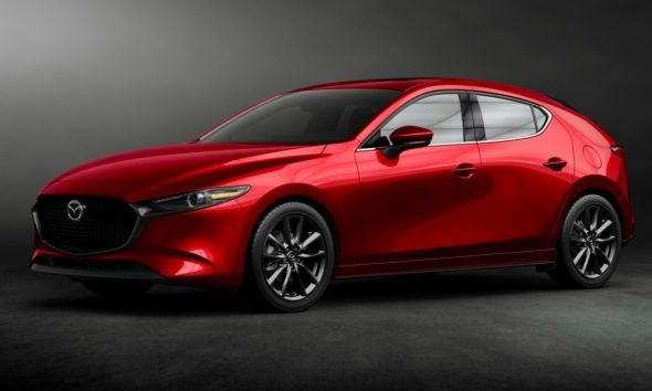 New 2020 Mazda 3 Hatchback Red With Images Mazda Mazda