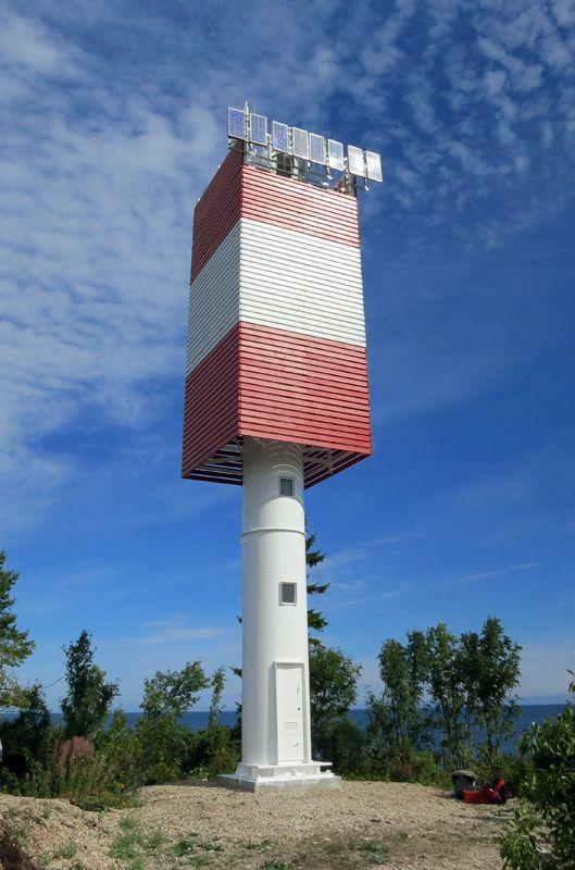 Light beacon, Väike-Pakri island, Estonia